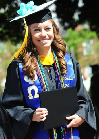 Class of 2014 Outcomes: Laura Fritts Works Toward Doctoral Degree
