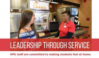 Leadership Through Service