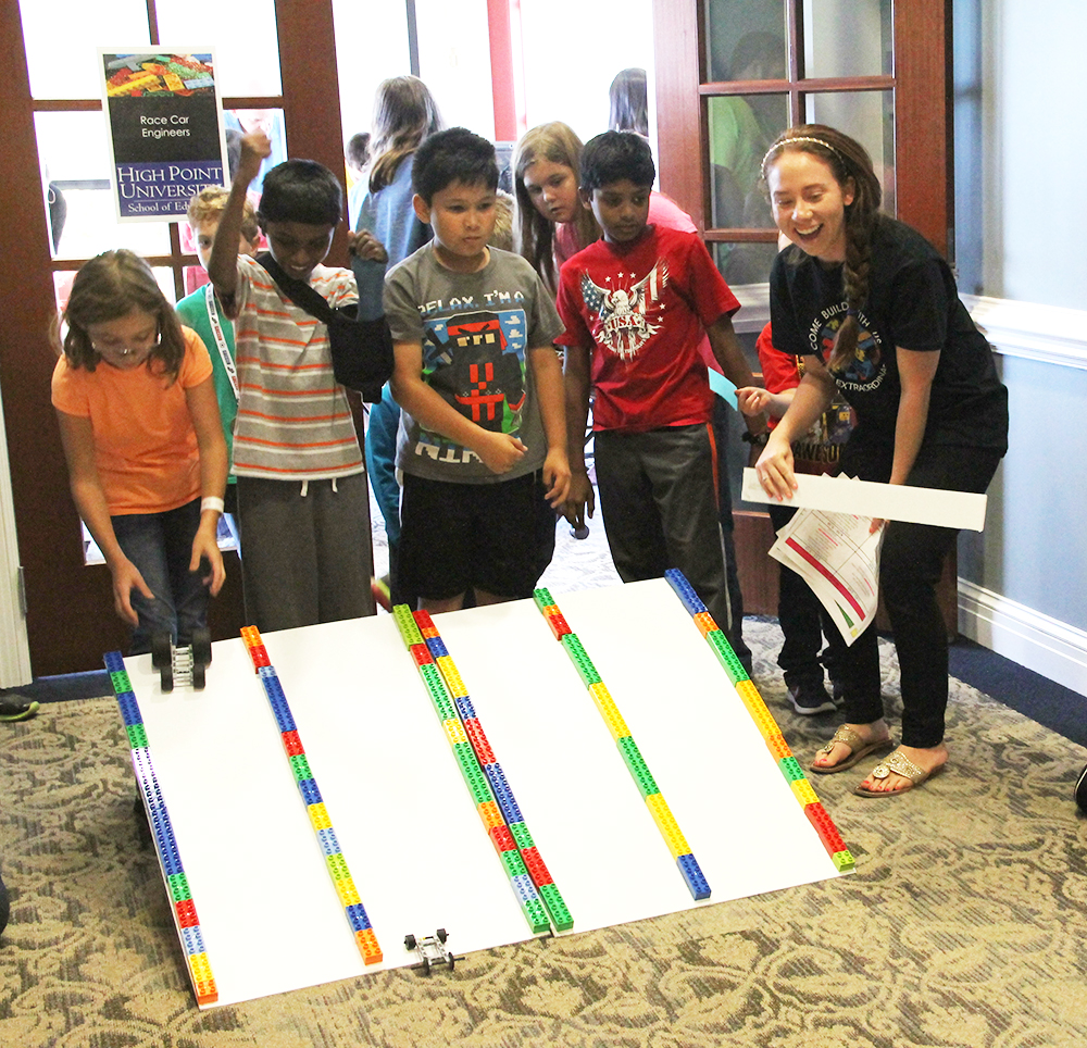 Local Children Learn STEM Concepts At HPU's Community Lego
