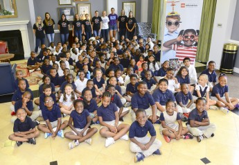 Montlieu Academy Visits HPU for Lego Day