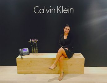 Junior Interns with Calvin Klein
