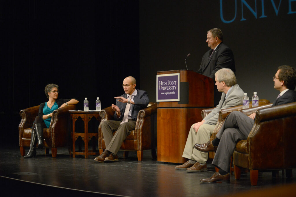 High Point University's Liberal Arts Panel