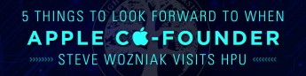5 Things to Look Forward to When Apple Co-Founder Steve Wozniak Visits HPU