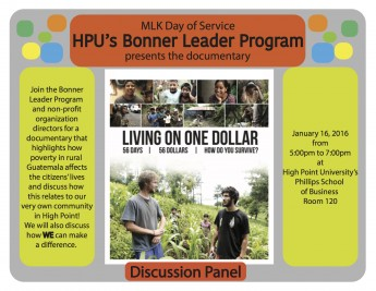 Bonner Leaders to Host Documentary Screening for Martin Luther King Jr. Day