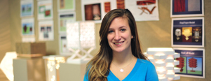 USA Today College Features Interior Design Major's Work