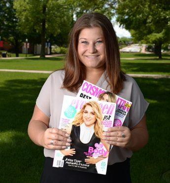 Student Fashions Future Career at Cosmopolitan-Seventeen Magazine