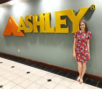 Ashley Furniture Internship Provides HPU Junior with E-commerce and Sales Experience