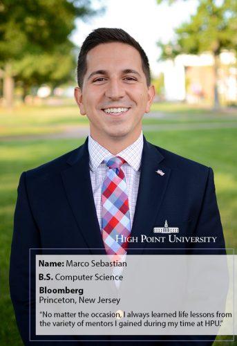 Class of 2018 Profile: Marco Sebastian Begins a Career at Bloomberg