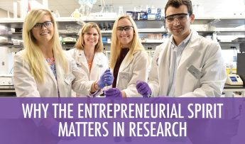 Why the Entrepreneurial Spirit Matters in Research