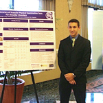 High Point University Athletic Training Student Mason Frank