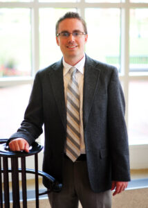 High Point University Assistant Professor of English Matthew Carlson