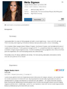 Melia LinkedIn