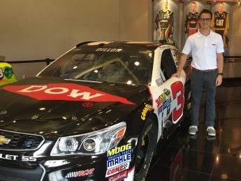 Senior Interns with NASCAR Team and Charlotte Motor Speedway