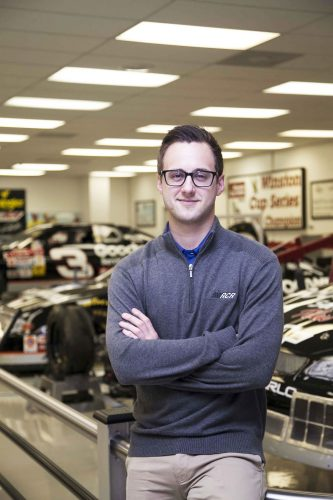 Class of 2017 Profile: Michael Rossi Gears up for Success at Richard Childress Racing