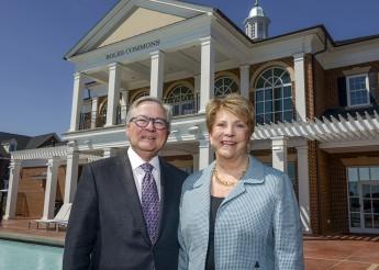 Alumni Couple Gives to HPU