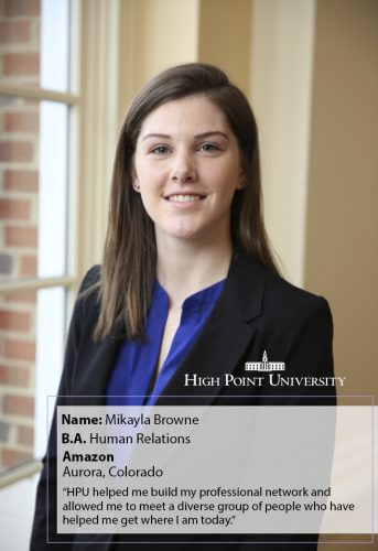 Class of 2018 Profile: Mikayla Browne Scores a Position at Amazon