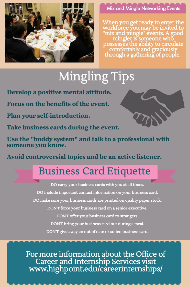 National business etiquette week how to mix and minglenbsphigh mix and mingle final copy copy reheart Image collections