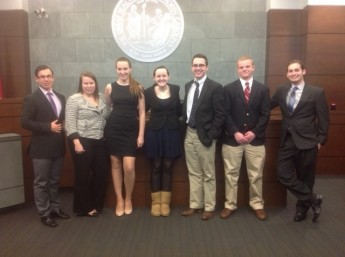 HPU Competes in First Mock Trial Tournament