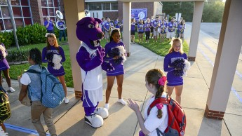 HPU Welcomes Montlieu Academy Students for First Day of School
