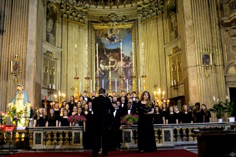 Students Perform Concert in the Vatican During Maymester Experience