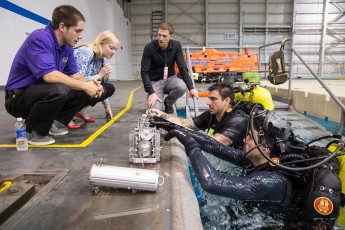Students Build and Test Device at NASA's Johnson Space Center