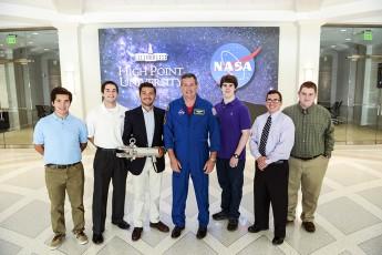 NASA Astronaut Michael Foreman Visits HPU