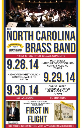 HPU: Home of NC's First Professional Brass Band