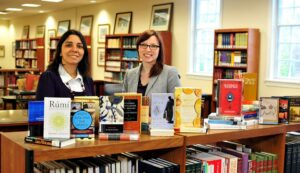 HPU High Point University Muslim Journeys Bookshelf