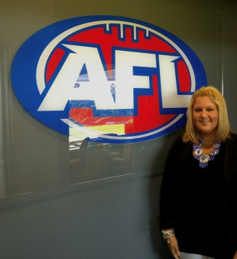 Rising Senior Helps Develop Marketing Campaign for Australian Football Team