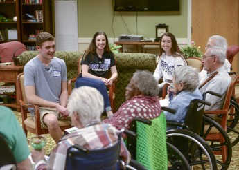 Students Use Poetry to Increase Health of Pennybyrn Residents
