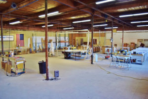 HammerHead's fabrication shop