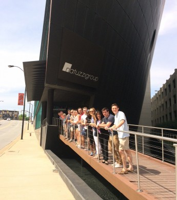 Students Combine Business and Culture During A Trip To Natuzzi Americas