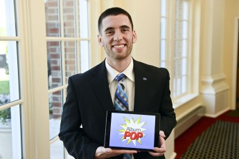 New App Created by HPU Junior Makes It Easy to Design Album Covers