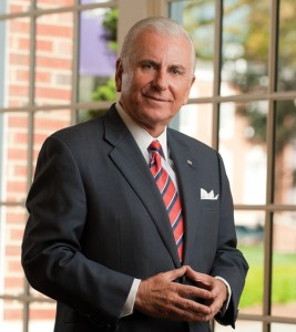 High Point University president Nido Qubein