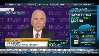 HPU President Nido Qubein Featured on CNBC's 'Squawk Box'