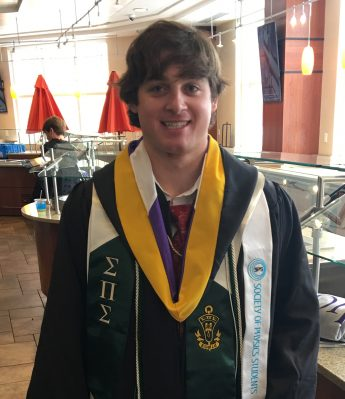 Class of 2018 Outcome: Noah Novembre Attends Osteopathic Medical School
