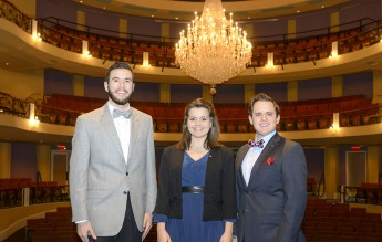 Three Students Perform with NC Opera