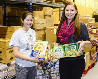 Students Collect 250 Pounds of Food for Out of the Garden