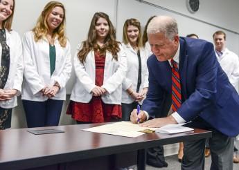 HPU Welcomes Mayor Bill Bencini for PA Week Proclamation