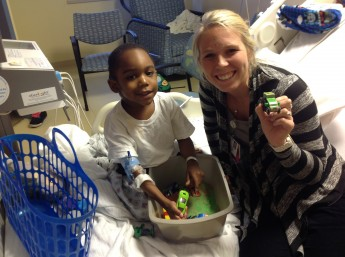 Senior Spends Summer Helping Sick Children as a Child Life Specialist