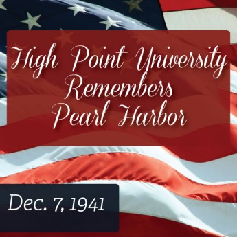 HPU Lowers Flags for Pearl Harbor Remembrance Day