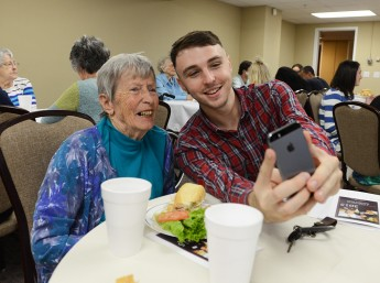Students Host Poetry Celebration for Pennybyrn Residents