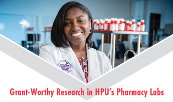 Grant-Worthy Research in HPU's Pharmacy Labs