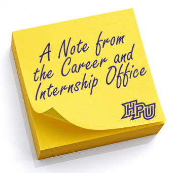 Connect with the Career & Internship Services Office