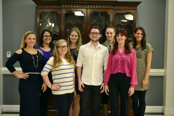 Psychology Students and Professors Attend National Conference