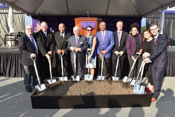 HPU Breaks Ground on Nido and Mariana Qubein Arena, Conference Center and Hotel