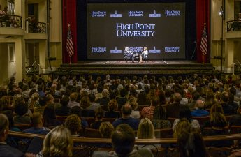 Qubein Hosts Back-to-Back Discussions with Thought Leaders