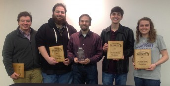 Quiz Bowl Team Sweeps Conference Championship