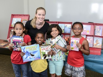 Bringing Books to Families: HPU Summer Reading Institute Concludes with Surprise