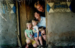 Rebecca Ulrich and her family lived in Uganda when Ulrich was 4-6 years old.